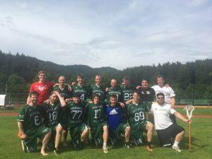 Helden im Breisgau: Würzburger Lacrosser